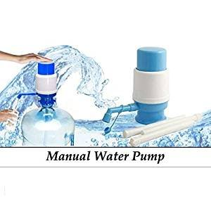 Cherry Water Bottle Water Dispenser Manual Hand Press Pump Bottled Water Pump Best Quality pump.  available at amazon for Rs.199