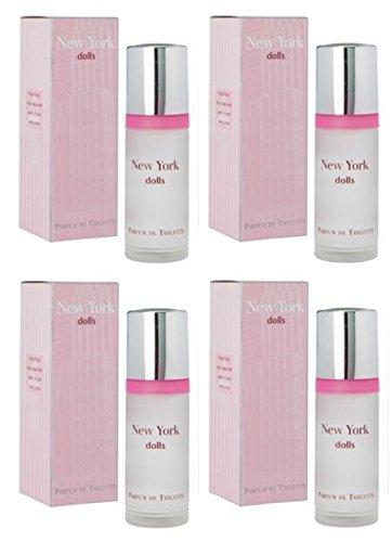 NEW YORK Lot de 4 Poupées par Milton Lloyd Parfum de toilette 55 ml/parfum