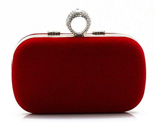 Minikristallhandtasche/Frau Bankett-Paket/Abendessen Clutch/Ring-Pack/Brautpaket-B B