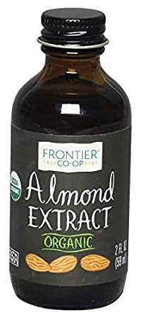 Frontier Organic Almond Extract, 2 Oz