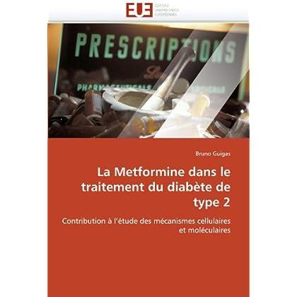 La metformine dans le traitement du diabète de type 2