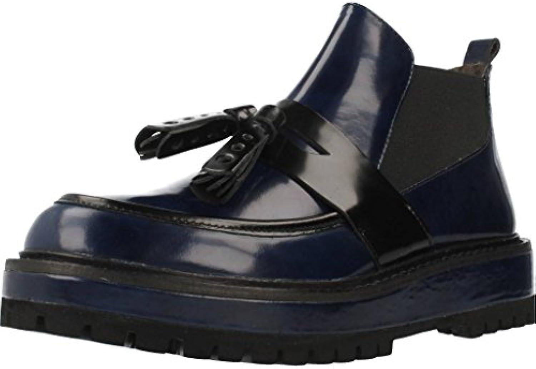 Botas para Mujer, Color Azul, Marca ELVIO ZANON, Modelo Botas para Mujer ELVIO ZANON E2961X Azul