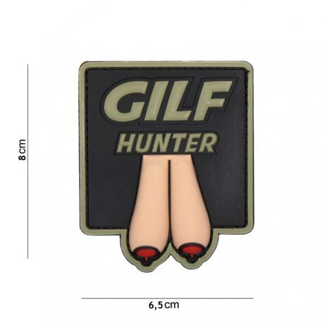 El Patch (Patch 3D PVC GILF EL Hunter Briefablageset)