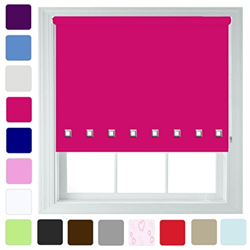 square-eyelet-roller-blind-in-different-colours-sizes-trimmable-fuchsia-60cm-x-165cm