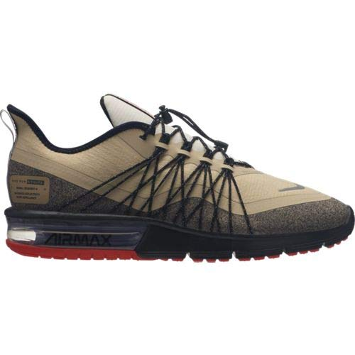 Nike Herren Air Max Sequent 4 Utility Leichtathletikschuhe, Mehrfarbig (Wolf Reflect Silver/Cool Grey/Black 003), 44.5 EU