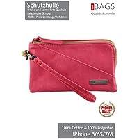 Golla Case-bag Swoosie *** TOP PREMIUM *** for iPhone X / 8/7 / 6S / 6 / SE / 5 / 5C / 5S / 4 / 4S Size: 160x100x10 mm! Mobile bag! Eternal classics! (Swoosie Pink)