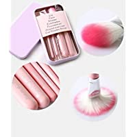 SWIHEL 7 PCS Makeup Brush Set, Professional Cosmetic Brush Foundation Eyeshadow Applicator