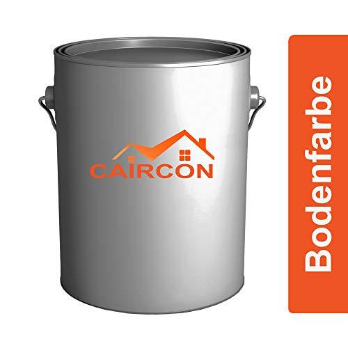 CAIRCON Bodenfarbe Betonfarbe   1L Anthrazitgrau   Bodenbeschichtung seidenmatt