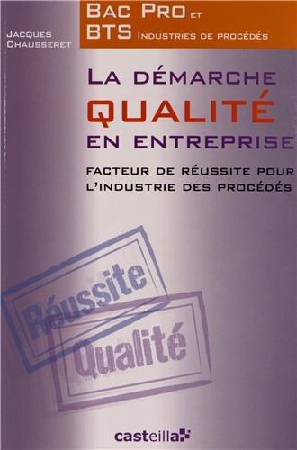 La démarche qualité en entreprise