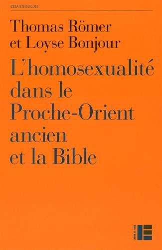L'homosexualit dans le Proche-Orient ancien et la Bible