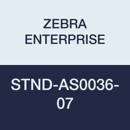 Zebra Enterprise stnd-as0036–07Verstellbarer Intellistand, Twilight Schwarz (Zebra-barcode-drucker-zubehör)