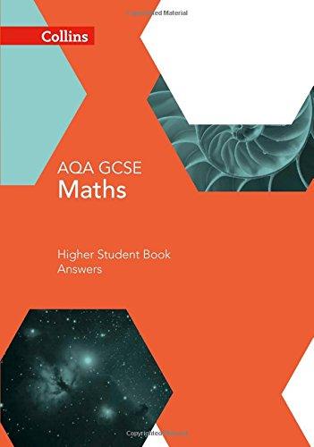 GCSE Maths AQA Higher Student Book Answer Booklet (Collins GCSE Maths)