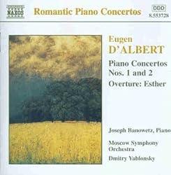 Eugen D'albert - Klavierkonzerte 1 Und 2
