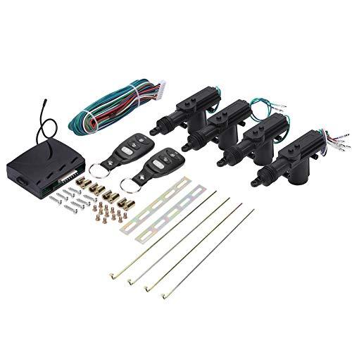 Auto Türschlossantrieb, Auto-Fernbedienung 4 Tür Power Zentralverriegelung Auto Locking Keyless Entry Kit (Keyless-entry-tür-kit)