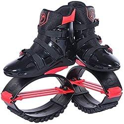 Mryhpe Unisexo Aptitud Kangoo Salta Rebotar Zapatos Botas de Running Anti-Gravedad Zapatillas de Salto,B,XL