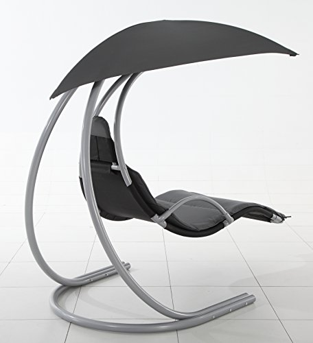Royalcraft Dark Grey Helicopter Swing Chair