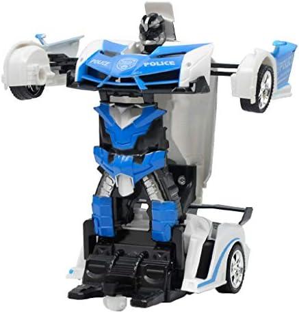 Homyl Robot Transformable Transformable Transformable TélécomFemmedable 2 en 1 avec Son et Lumières Cadeau de Noël  s   Caracteristique  bbdc33