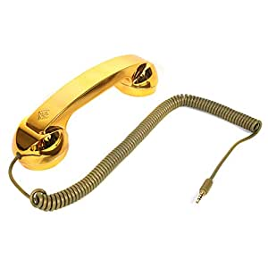 Callmate Native Union Moshi Moshi Pop Phone Retro Handset - Golden