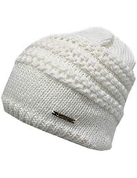 Laura Biagiotti Cappello donna 95% acrilico cuffia senza risvolto 21190  bianco 6e6a15a10b55