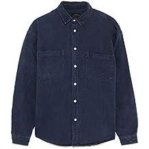 aef80e4dea45 Zara Men s Denim Overshirt 6917 391