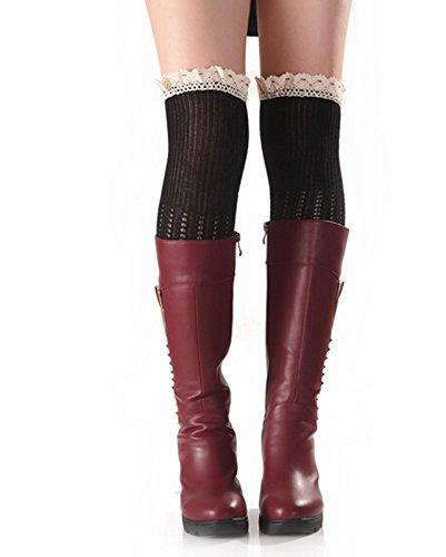 Fletion - Leggings sportivi -  donna Nero