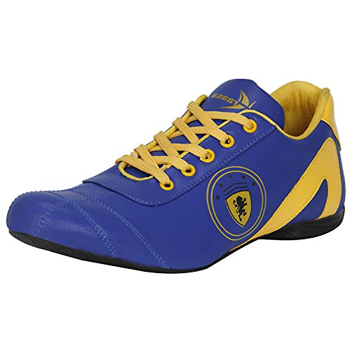 Kraasa Men's Blue Red Sport Shoe -8