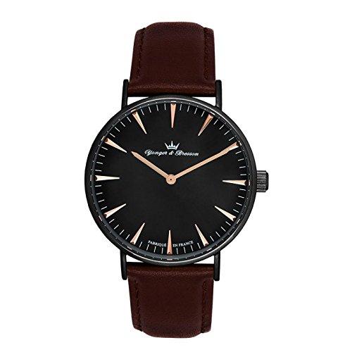 Reloj Yonger & Bresson hombre negro–HCN 075/AU