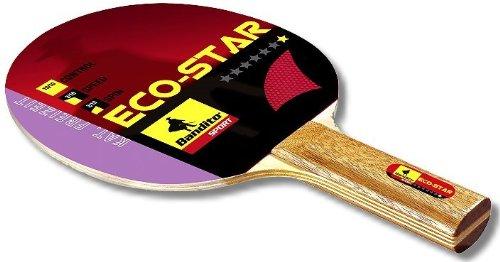 Tischtennisschläger Einsteigerschläger 2 er set Schläger Eco Star besteht aus einem 5 mm starken, furnierten Hartholz