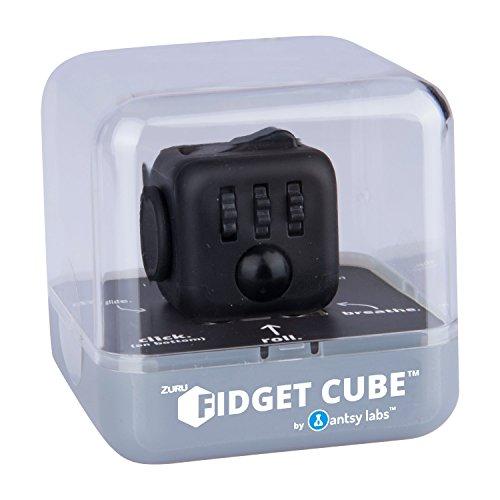 *Fidget Cube 34558 – Original Cube von Antsy Labs, Spielzeug, Midnight*