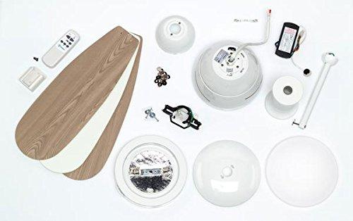 Westinghouse Lighting CUMULUS Ceiling Fan, Metal, R7s, 80 W, White