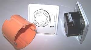 Sauna, minuterie, encastré, Ventilateur, sauna, sauna Accessoires, lampe de sauna de Construction (LG-N ° 134)