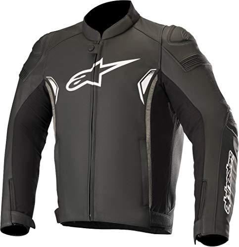 Alpinestars Motorradjacke, Motorrad Jacke SP-1 V2 Lederjacke schwarz 50, Herren, Sportler, Sommer