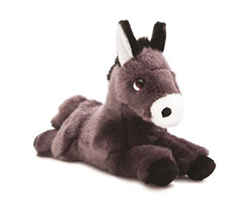 Luv to Cuddle Plüschtier Esel Kuscheltier liegend Plüschesel ca. 28 cm