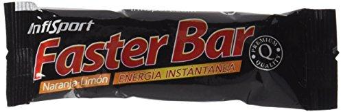 Infisport S.L.  - Faster bar naranja/limon 28 barritas (caja)(gluco)
