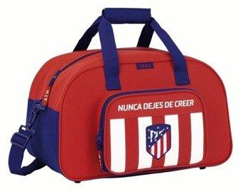 Safta Bolsa De Deporte Atlético De Madrid Oficial 400x230x240mm