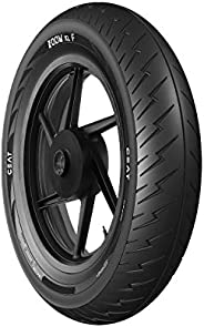 Ceat Zoom XL F 103062 100/90 -18 56P Tubeless Bike Tyre, Rear
