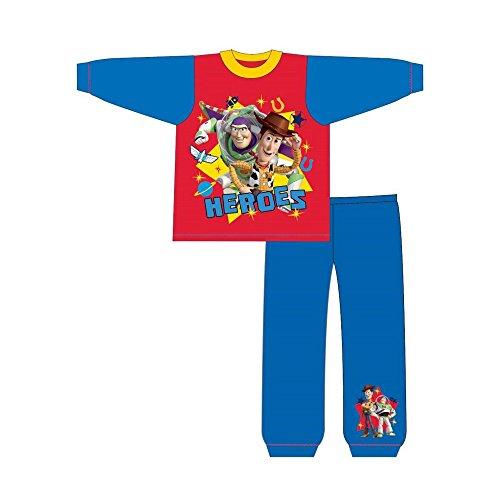 Toy Story Kleinkinder Jungen Heroes Snuggle Fit Schlafanzug (2-3 Jahre (92)) (Blau/Rot) (Toy Story-pyjama, Kleinkind, Junge)