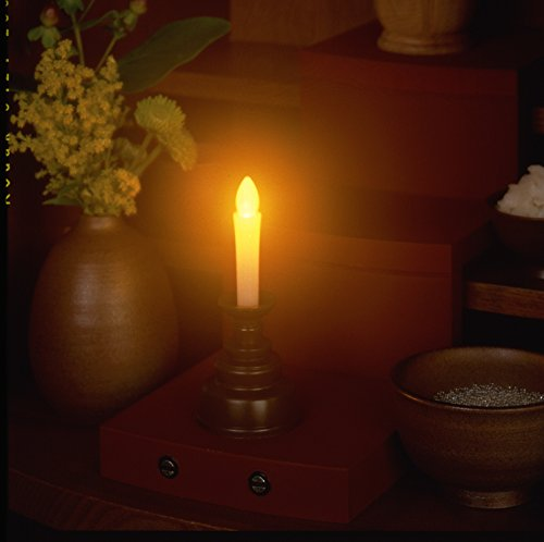 Electric Candle Mini Brown ARO-5202DB
