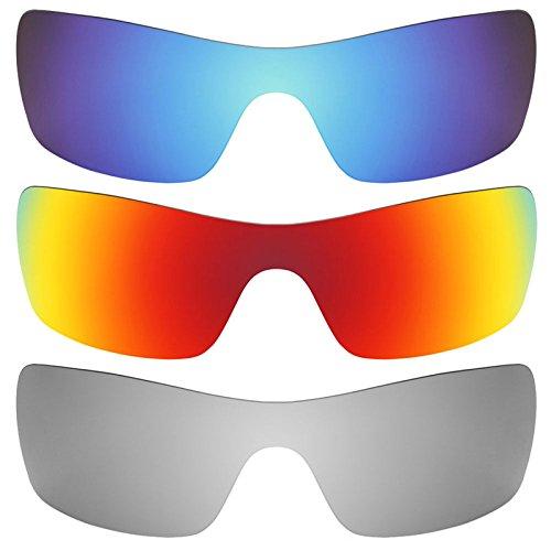Preisvergleich Produktbild Revant Ersatzlinsen für Oakley Batwolf Polarisiert 3 Paar Kombipack K014