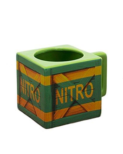 Offiziell Crash Bandicoot Nitro Kiste Tasse