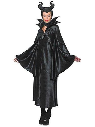 Disney Maleficent Damenkostüm Böse Fee Lizenzware schwarz M