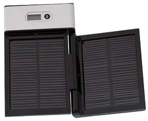 Oyama - Apollo 2000 - Chargeur universel SOLAIRE pour téléphones mobiles et lecteurs MP3 - 9 embouts de connexions - Aluminium brossé