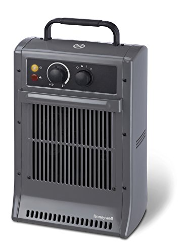 Honeywell CZ2104EV2 Heiz-Gigant/Power-Heizlüfter in anthrazit 2500W