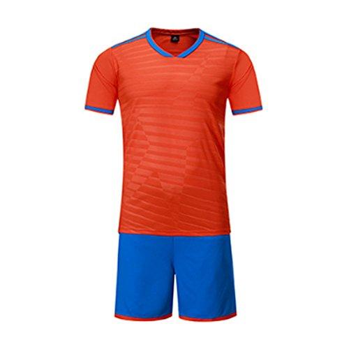 Trikot Kostüm Frauen Fußball - Yefree Fußball Jersey Sport Kostüme Kleidung Fußball für Männer und Frauen Sommer Anzüge Kleidung Sets Jersey und Kurz