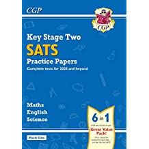 New KS2 Complete SATS Practice Papers Pack: Science, Maths & English (for the 2020 tests) - Pack 1 (CGP KS2 SATs Practice Papers)