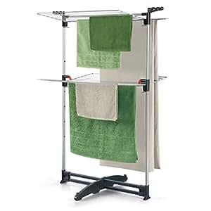 metaltex 405869099 s che linge avec 2 tages hauteur des tages ajustable cuisine. Black Bedroom Furniture Sets. Home Design Ideas