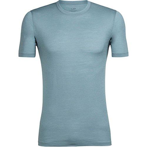 Icebreaker Herren Tech Lite Ss Crewe T-Shirt, Midnight Navy (Marineblau),