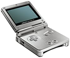 Game Boy Advance SP: Silver