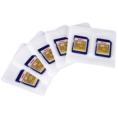 Hama Selbstklebende Hüllen für SD-Karten, 5er-Pack - Speicher Karte Xd Für Kamera