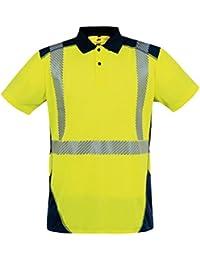 T2s POLOBORNE3JM3L - Camisa de polo borne3jm2l polo, amarillo / azul marino, amarillo,